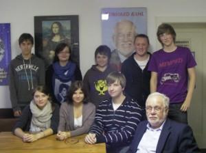 Reinhard Kahl zu Gast bei der Juso-AG Frankenberg