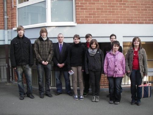 Jusos besuchen Altenzentrum Stiftung Hospital St. Elisabeth